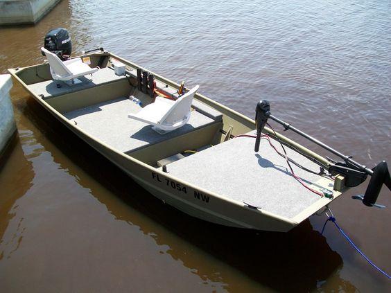 Pinterest the world s catalog of ideas for Jon boat bass fishing