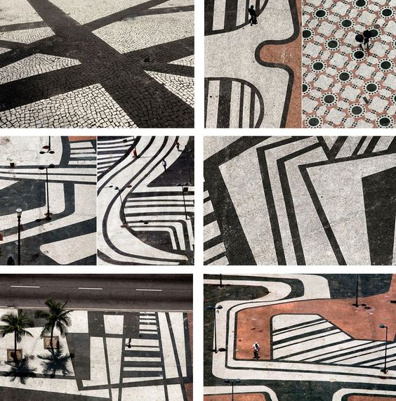 burle marx landscape patterns might make interesting clay tiles...: