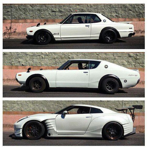 Past and Present: Nissan GTR