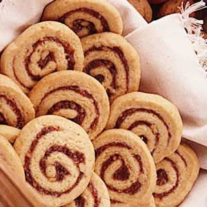 Date walnut pinwheel cookies recipe