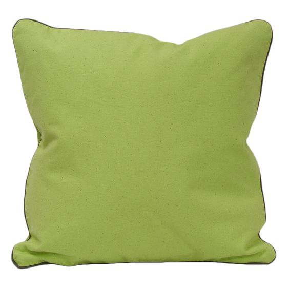 Green Organic Cotton Solid Pillow (Set of 2) - Overstock™ Shopping - Great Deals on Throw Pillows