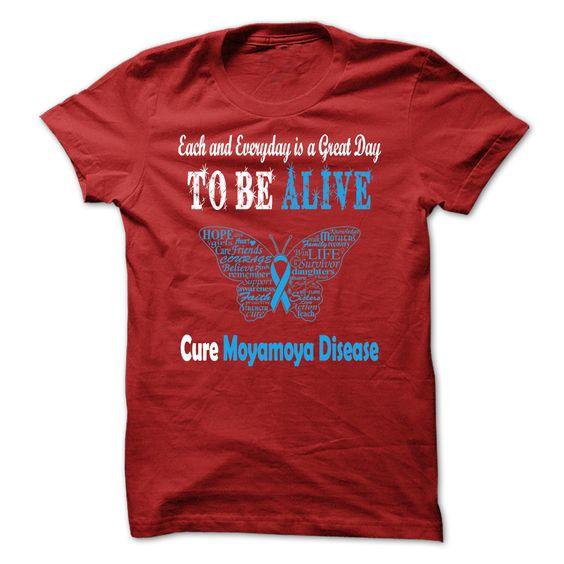 Cure Moyamoya Disease https://www.sunfrog.com/Cure-Moyamoya-Disease.html?18702