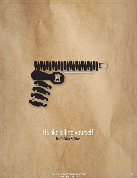 its like killing yourself dont drink drive advertising agency lonsdale anti advertising agency office