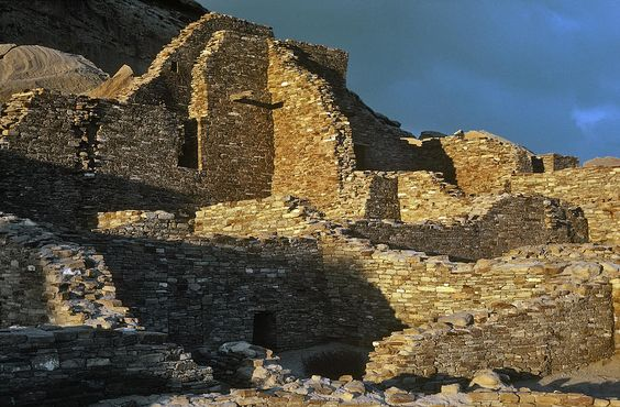 mexico national parks | Chaco Canyon National Historical Park - New Mexico Photograph