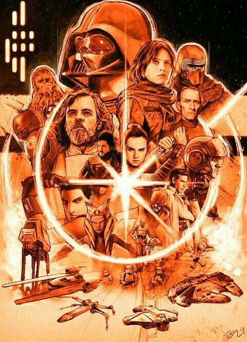 Star Wars Saga Star Wars Art Star Wars Poster Star Wars Wallpaper