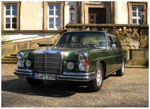 Diesen Mercedes Benz Oberklasse Oldtimer der 60iger Jahre gibts bei THULKE classic (thulke-classic.de)