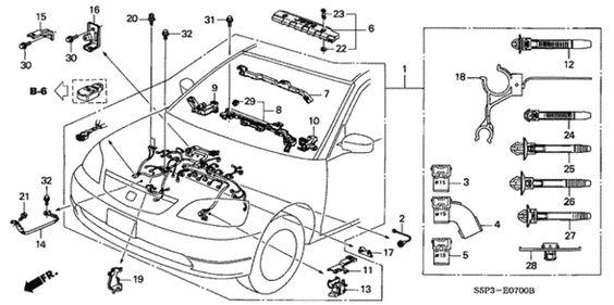 Honda Civic Parts My Wiring Diagram