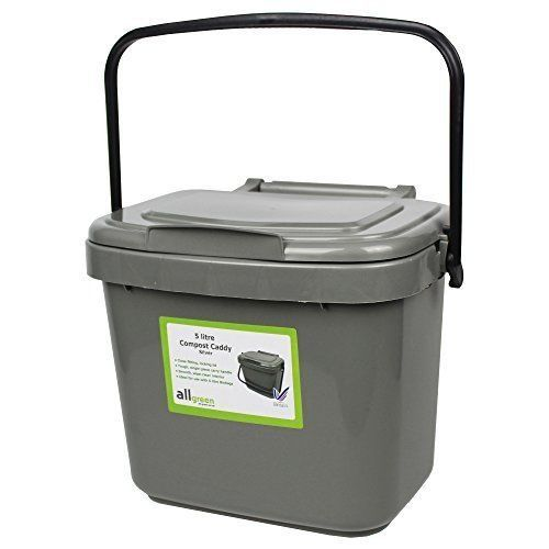 Details about 5L Composting Bin Kitchen Compost Caddy Home ...