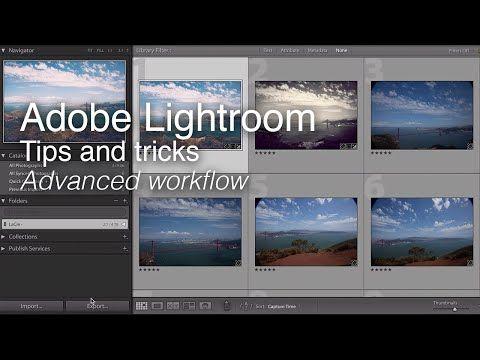 Adobe lightroom tips and tricks