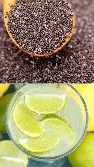 Suco de chia para emagrecer, desinchar e evitar câncer; veja receita detox poderosa - Bolsa de Mulher