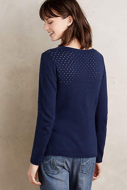 Stitched Snail Cardigan - anthropologie.com