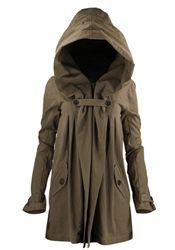 Nicholas K Anthro Coat Jacket Taupe