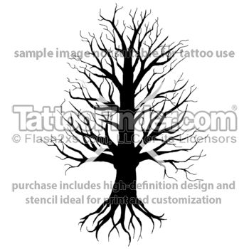 uprooted tattoo design by Ray Reasoner