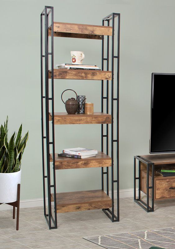 Vania Etagere Bookcase Etagere Bookcase Bookcase Living Room Shelves