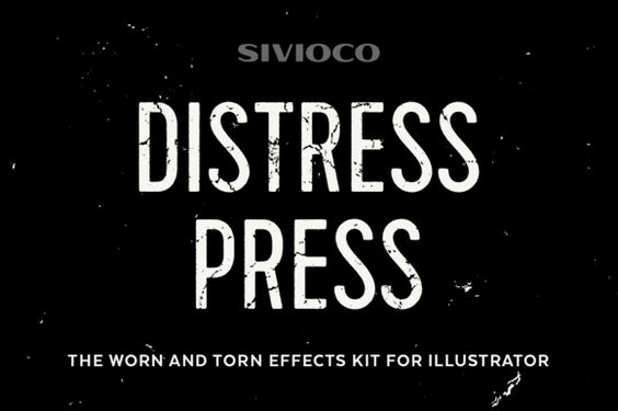 Distress Press by Sivioco
