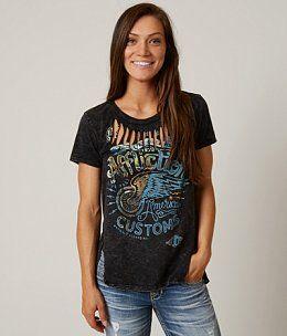 Affliction American Customs No Luck T-Shirt
