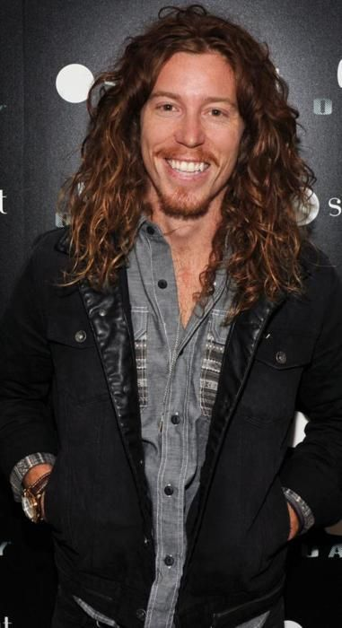 Shaun White. I think I've already pinned this. Who cares. He's hawt.