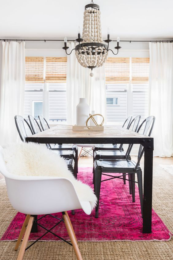 Farmhouse Dining Room designed by Lauren DeBello of Redo Home and ...