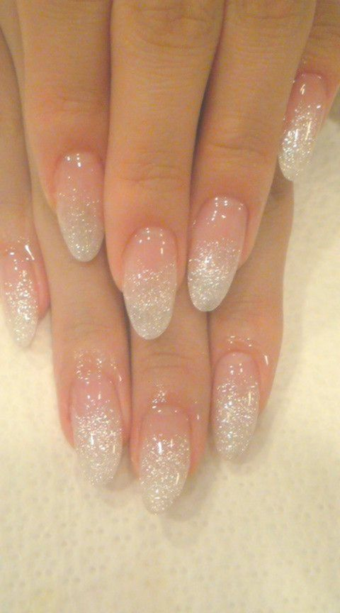 50 Must Try Classy Glitter Almond Acrylic Nails In 2017 45 Longnails Longnailideas Lo Acrylic Nails Almond Glitter Almond Acrylic Nails Glitter Fade Nails