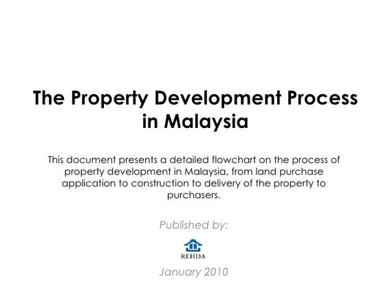 the property development process in malaysia published by january 2010 this document presents a detailed flowchart on the my information pinterest - Document Development Process