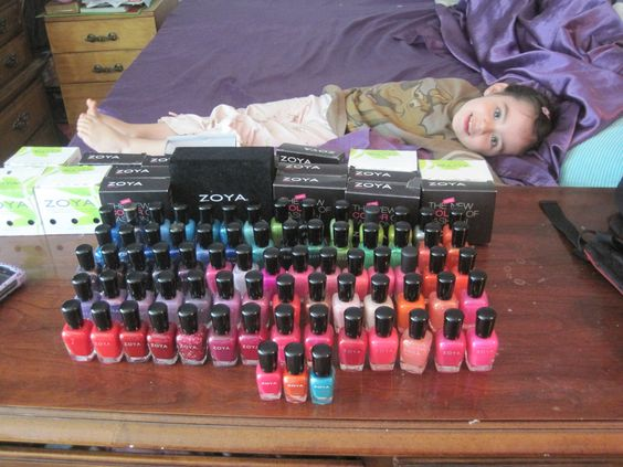oh zoya how do i love thee..let me count the bottles lol 74 to be exact :)