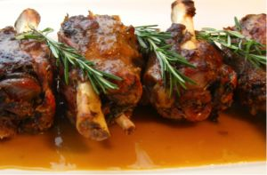 """Grilled Pork Shank 