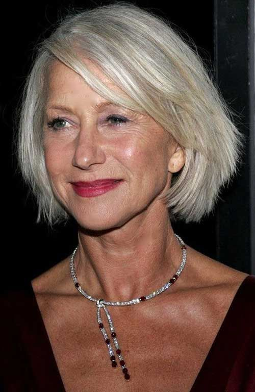 Awesome Really Trending Bob Hairstyles For Older Women Hairstyles Older Grey Hair Styles For Women Older Women Hairstyles Hair Styles For Women Over 50
