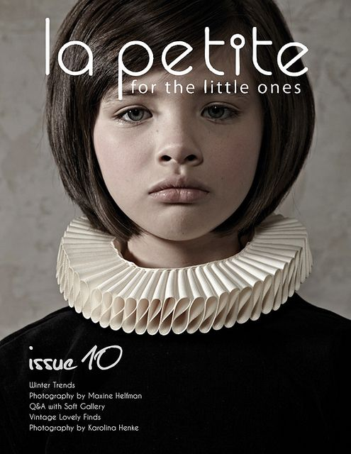 La Petite Magazine Cover Issue 10, photography by Maxine Helfman