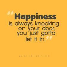 Let it in........