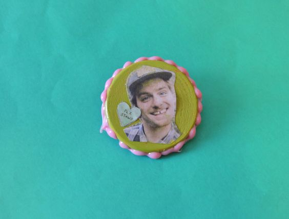 Mac DeMarco Button by DropDeadDreamy on Etsy https://www.etsy.com/listing/218090731/mac-demarco-button