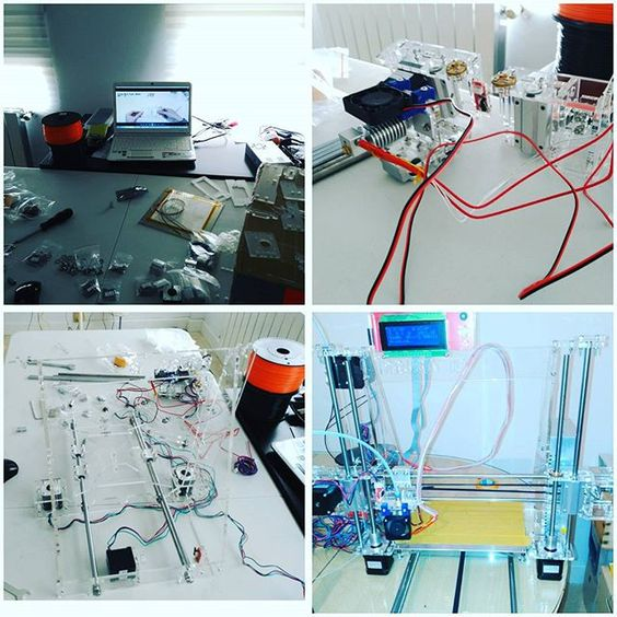 Something we liked from Instagram! #3dprinter #3dprinting #assembly #DIY #PrintYourMind by cucunmolokai check us out: http://bit.ly/1KyLetq