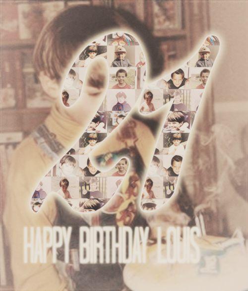 HAppy Birthday Louis!!!!!