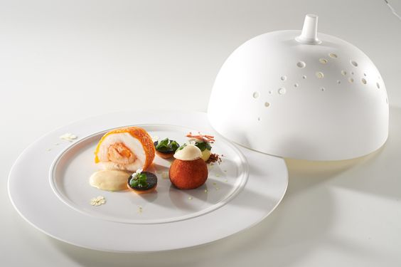 France Fish Plate. Bocuse d'Or.