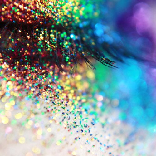 glitter-dust everywhere