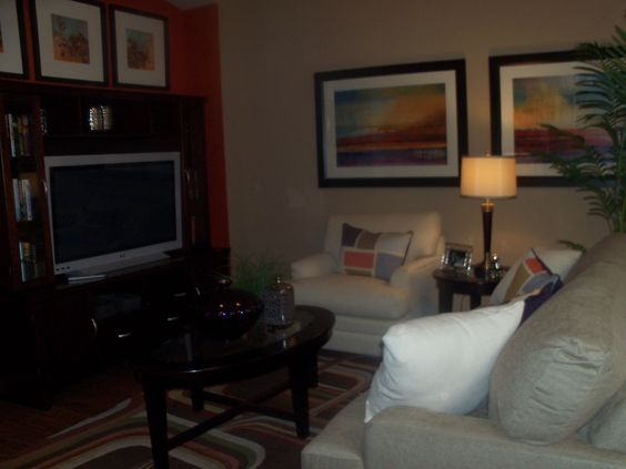 Living Room In The Model Home For Stylecraft Builders On Killeen TX