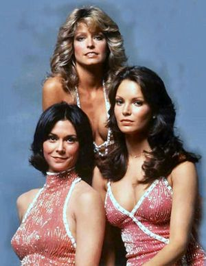 Charlie's Angels........Farrah was my idol.....I had all of the Charlies Angels Barbie dolls when I was little