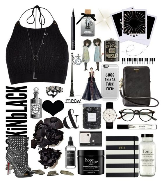 """What..."" by detroitgurlxx ❤ liked on Polyvore featuring FOSSIL, Bobbi Brown Cosmetics, Casetify, Kate Spade, philosophy, Junghans, Threshold, Earth's Nectar, NARS Cosmetics and Disney"