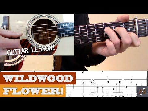 Wildwood Flower Tony Rice Style Bluegrass Guitar Lesson With Tab Youtube Guitar Guitar Lessons Wildwood Flower