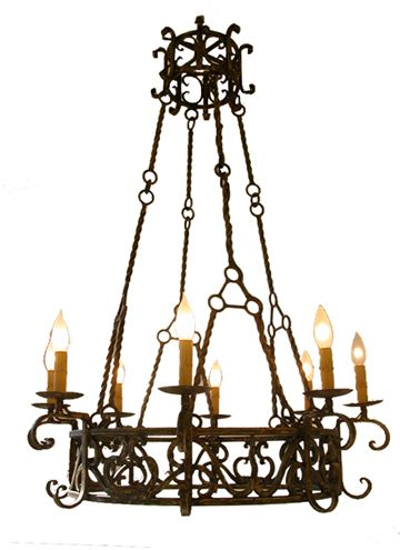chandelier spanish colonial love lamps and lighting. Black Bedroom Furniture Sets. Home Design Ideas
