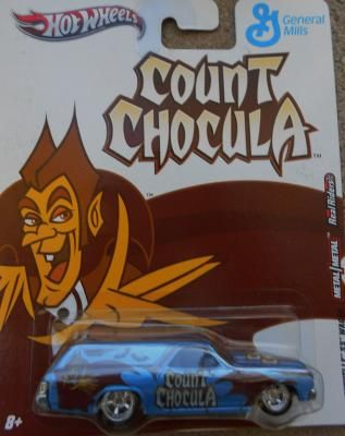 HOT WHEELS GENERAL MILLS COUNT CHOCULA '70 CHEVELLE SS WAGON FREE SHIPPING!!
