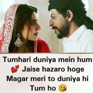 100 Romantic Shayari With Images In Hindi For Couple Whatsapp Dp