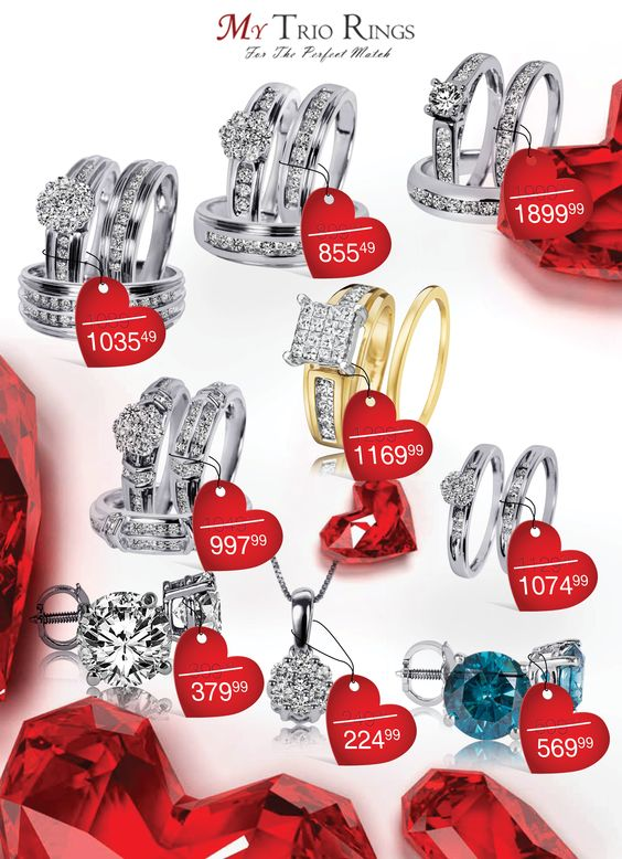 valentine ring sales