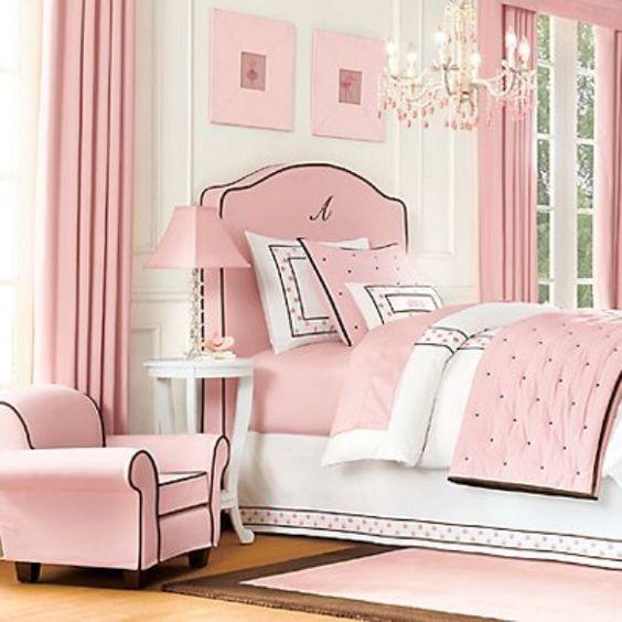 40 Beautiful Teenage Girls Bedroom Designs: Tween Girls Bedrooms Ideas Pink
