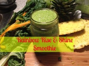rainbow rise and shine smoothie | Drinks | Pinterest | Smoothie ...