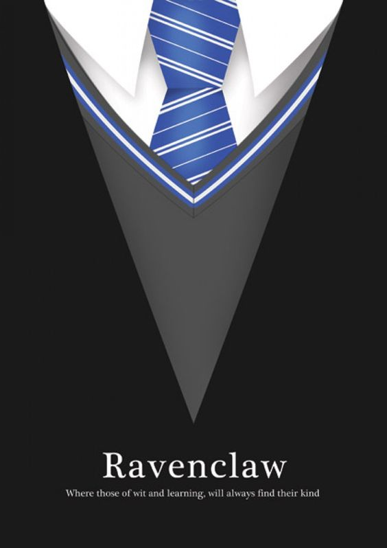 Ravenclaw minimalist poster and poster on pinterest for Minimalist house wallpaper