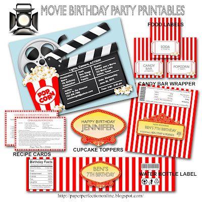 Movie Birthday Party Invitations was amazing invitations template