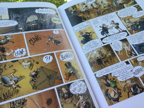 4 séries de bandes dessinées à découvrir - Le cabaret des ombres  http://lesptitsmotsdits.com/initier-enfant-bandes-dessinees-4-suggestions/