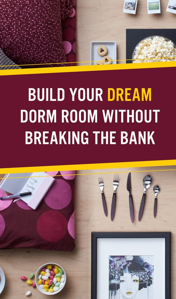 Because you have other financial responsibilities, like textbooks and late night pizza #IKEAStudyinStyle http://www.hercampus.com/life/campus-life/6-ways-build-your-dream-dorm-room-not-break-bank