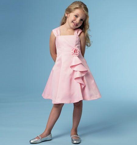 patron couture fillette 3 ans