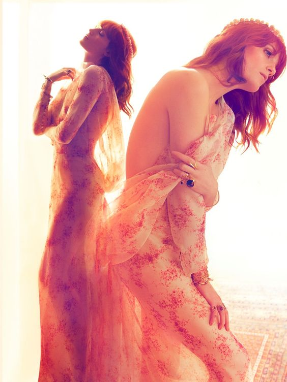 Florence Welch by Camilla Akrans for Harper's Bazaar UK July 2012